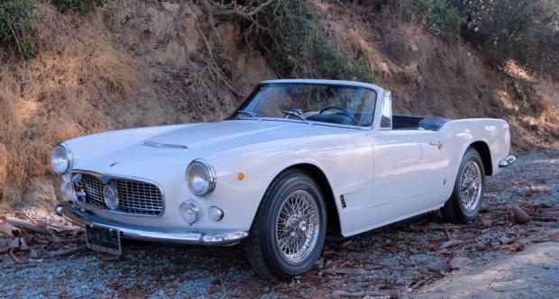 1962 Maserati 3500 GT Vignale Spyder = Rare 1 of 252  $695k For Sale (picture 2 of 3)