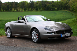 2002 Maserti Spyder Beautifully Maintained & Enhanced - For Sale