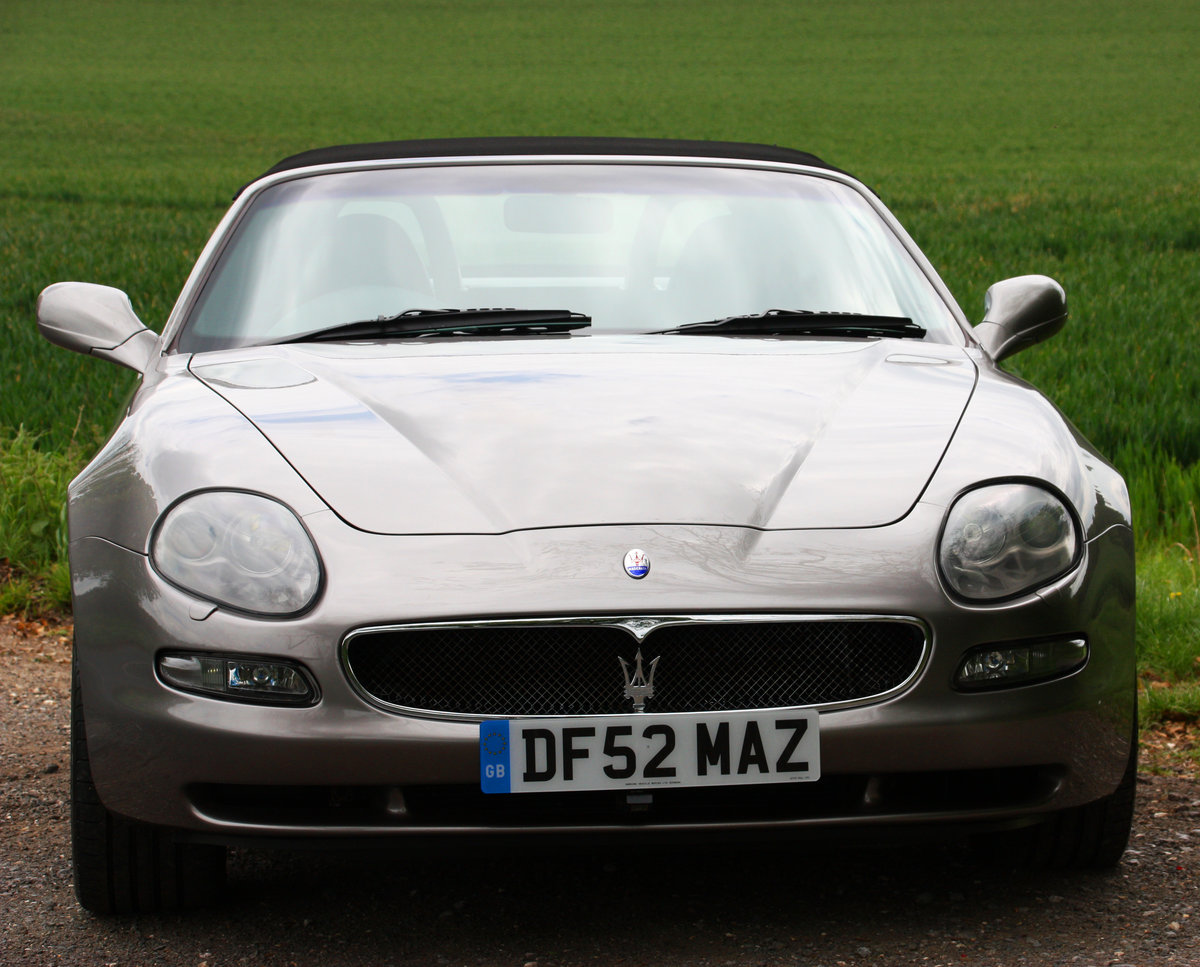 2002 Maserti Spyder Beautifully Maintained & Enhanced - For Sale (picture 3 of 6)
