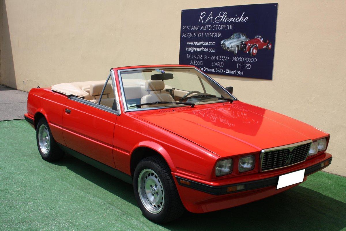 MASERATI BITURBO 2.0 CONVERTIBLE ZAGATO OF 1985 For Sale (picture 1 of 6)