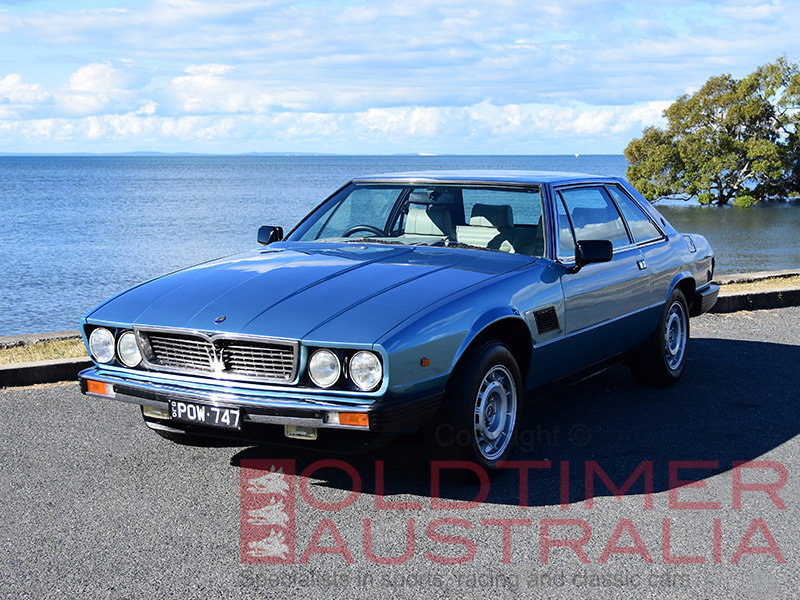 1981 Maserati Kyalami 4.9 Litre For Sale (picture 1 of 6)