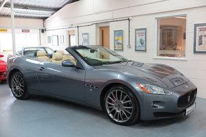 2011 11 Maserati GranCabrio 4.7 auto - Grigio Alfieri Grey