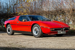 1975 Maserati Bora 4.7-litre coupe (RHD) SOLD by Auction