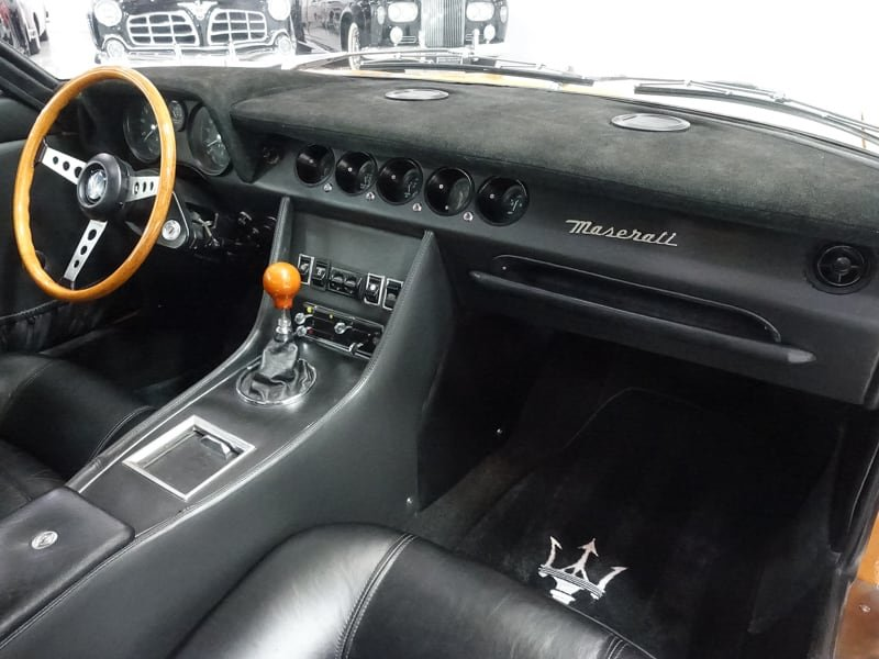 1971 Maserati Indy 4.7 European 29,000 km LHD For Sale (picture 4 of 6)