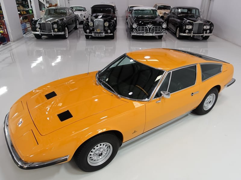 1971 Maserati Indy 4.7 European 29,000 km LHD For Sale (picture 5 of 6)