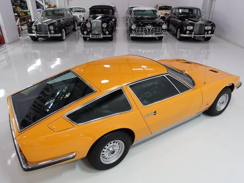 1971 Maserati Indy 4.7 European 29,000 km LHD For Sale (picture 6 of 6)