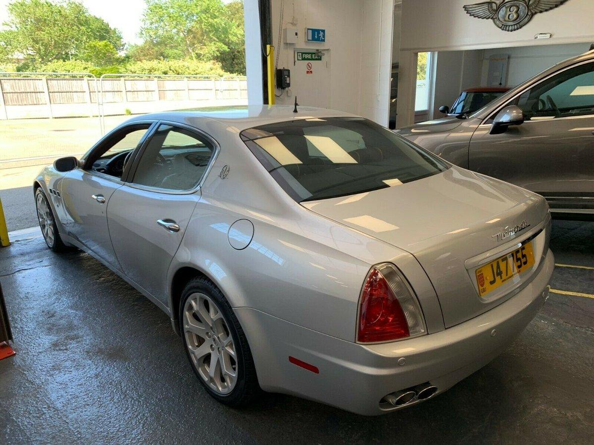 2007 Maserati Quattroporte Left Hand Drive V8 For Sale (picture 2 of 6)