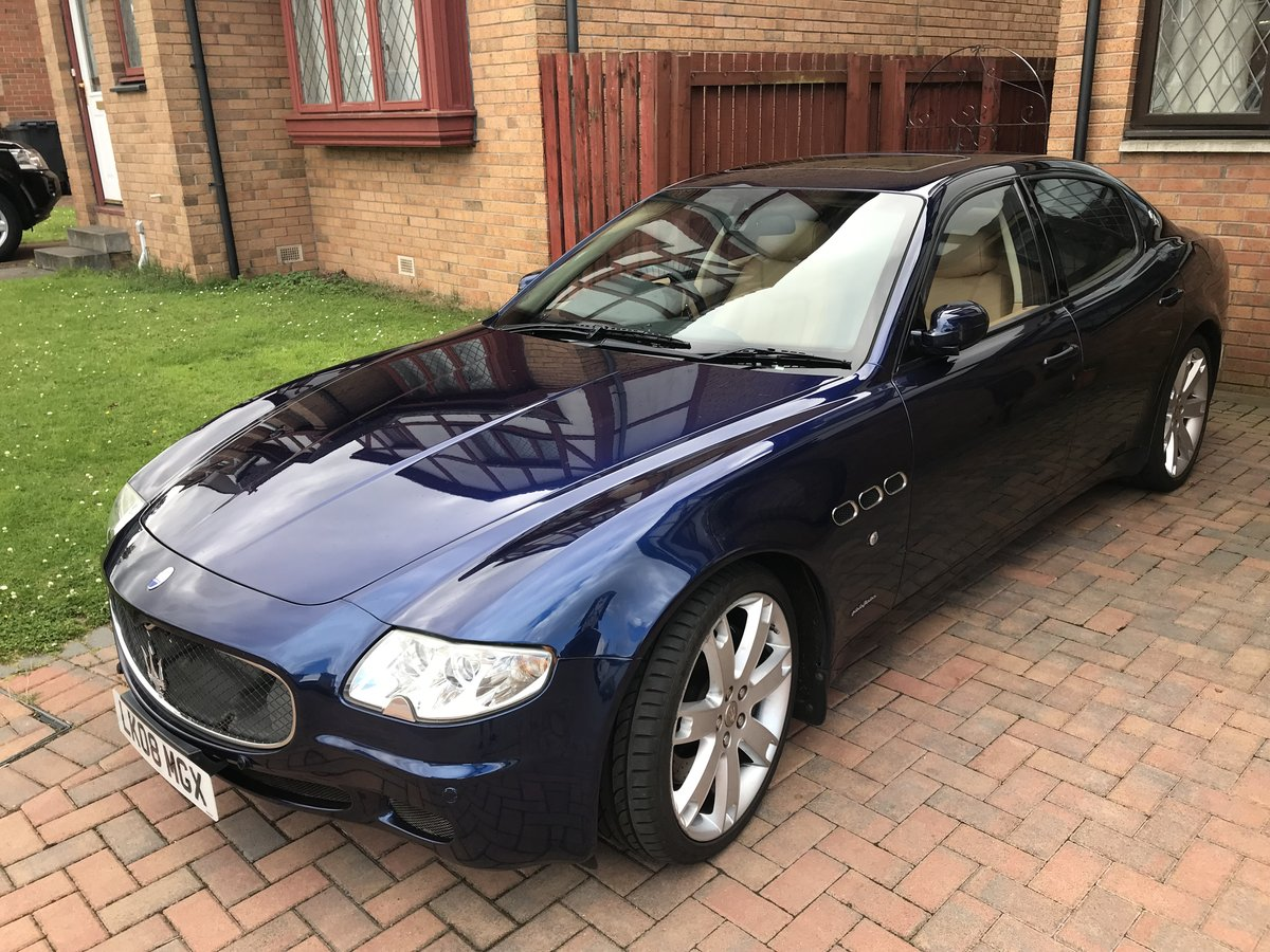 2008 Stunning Maserati Quattroporte 4.2 Sport GTS For Sale (picture 1 of 6)