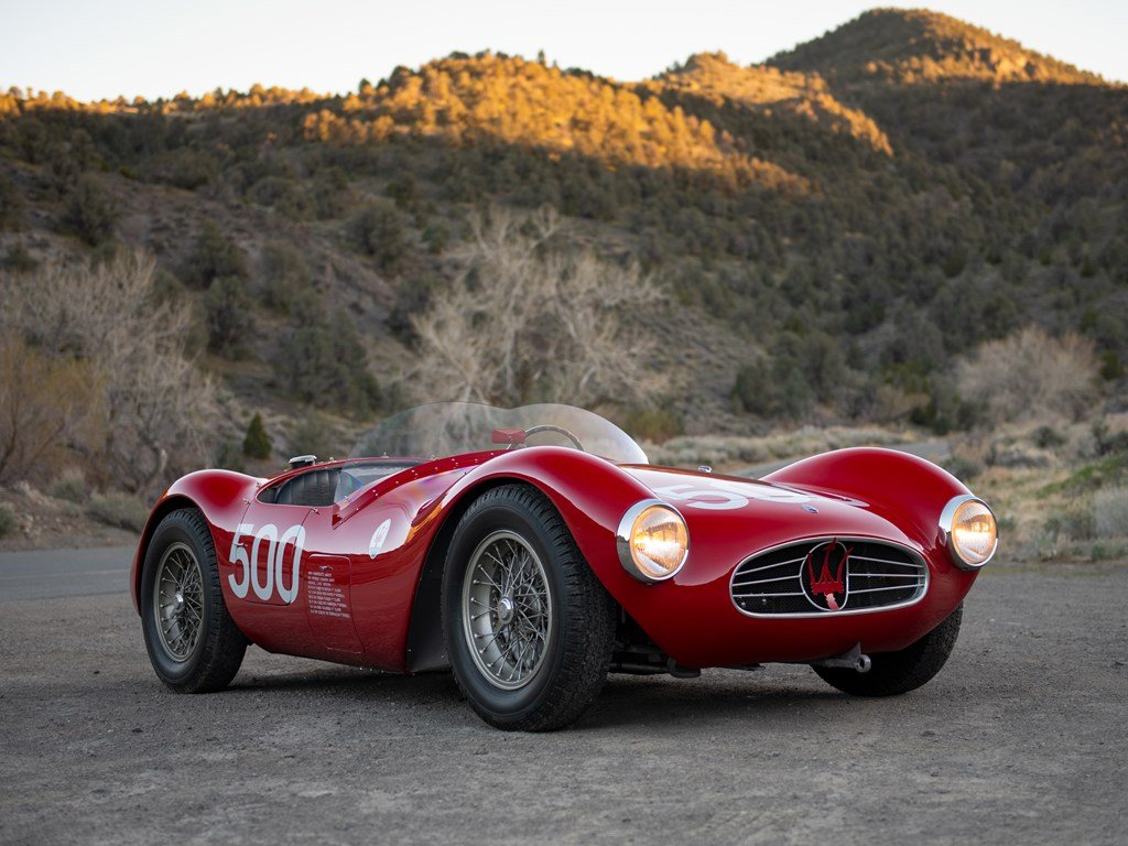 1954 Maserati A6GCS by Fiandri & Malagoli For Sale by Auction (picture 1 of 6)