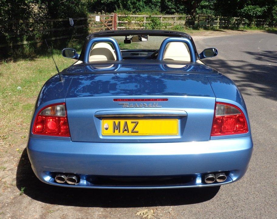2003 Maserati Spyder 4200 CambioCorsa - Low mileage For Sale (picture 4 of 6)