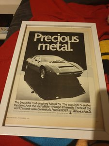 1981 Original Merak SS advert
