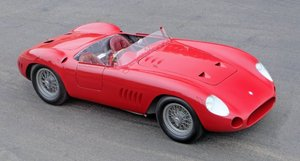 Picture of 1957 Maserati 300S Long-Nose Fantuzzi Spyder = Rare Race Car For Sale