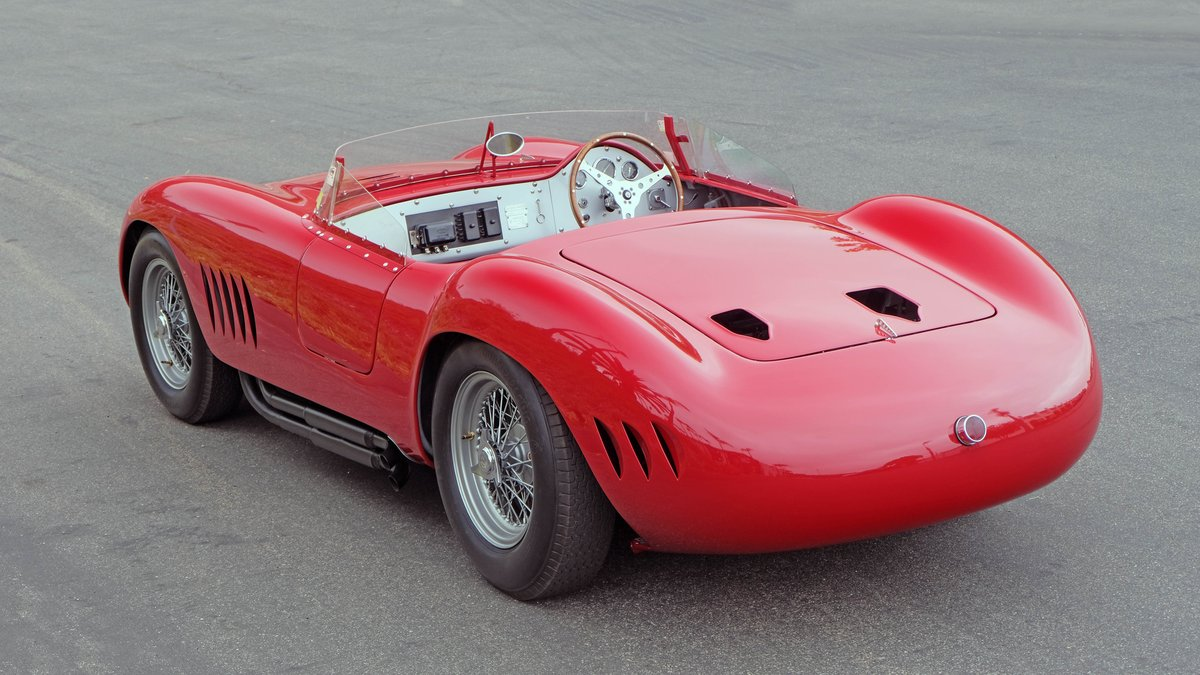1957 Maserati 300S Long-Nose Fantuzzi Spyder = Rare Race Car For Sale (picture 2 of 6)