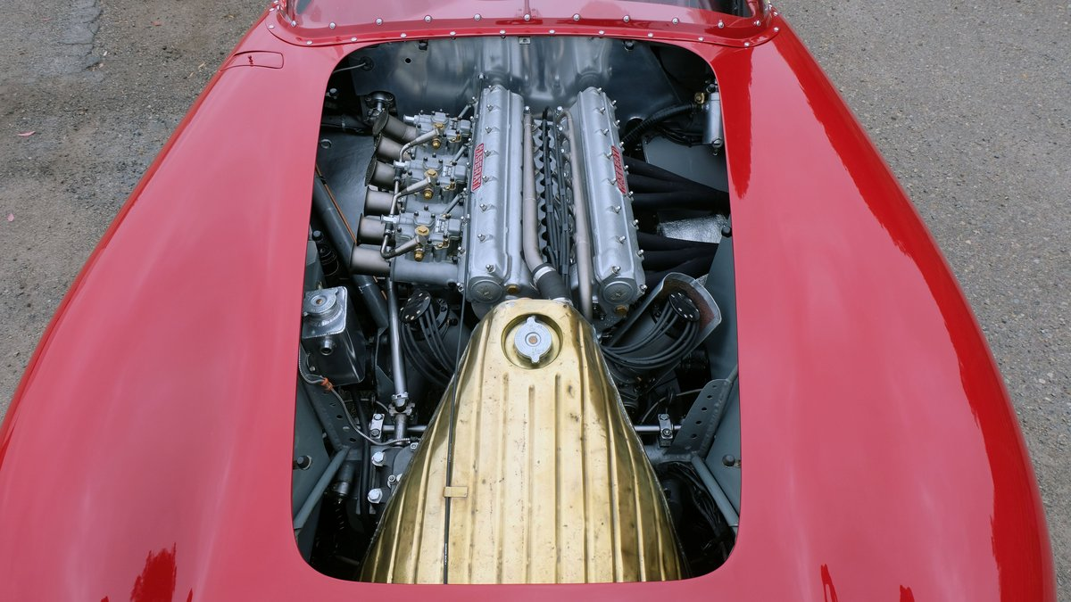 1957 Maserati 300S Long-Nose Fantuzzi Spyder = Rare Race Car For Sale (picture 4 of 6)