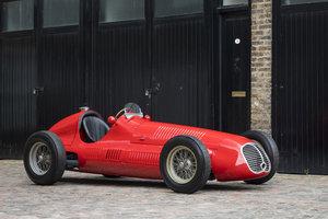 1949 Maserati 4CLT - Ex-Giuseppe Farina & Scuderia Milan For Sale