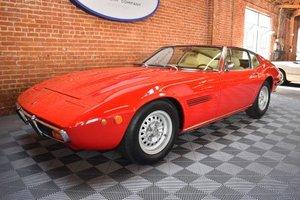 1971 Maserati Ghibli SS 4.9 Coupe clean Red(~)Tan AC  $225k