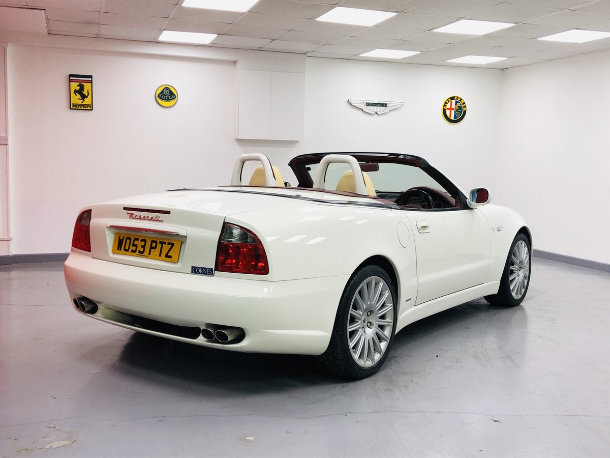 2003 Maserati 4200 Cambiocorsa Spyder For Sale (picture 5 of 6)