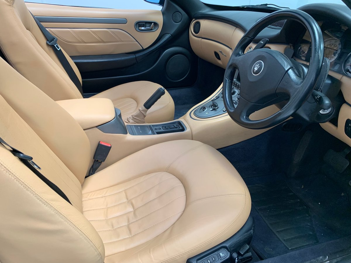 2003 Maserati Spyder UK RHD Stunning! For Sale (picture 3 of 6)