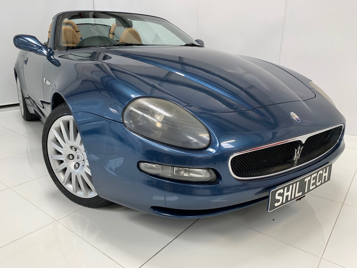 2003 Maserati Spyder UK RHD Stunning! For Sale (picture 4 of 6)