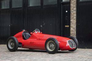 1949 Maserati 4CLT - Ex-Giuseppe Farina & Scuderia Milan SOLD