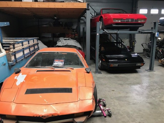 1974 Maserati Merak Coupe 3.0 , Project ( Ex Holywood ) For Sale (picture 1 of 6)