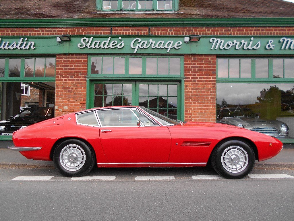 1970 Maserati Ghibli SS Coupe 1 of 12 RHD Cars  For Sale (picture 1 of 5)