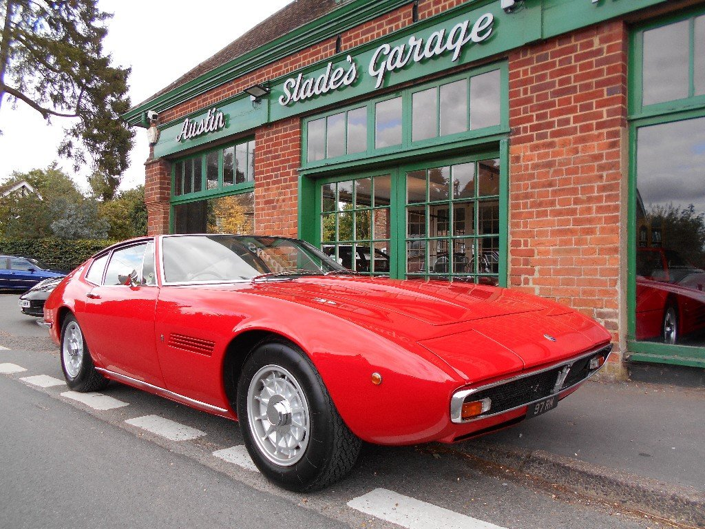 1970 Maserati Ghibli SS Coupe 1 of 12 RHD Cars  For Sale (picture 2 of 5)