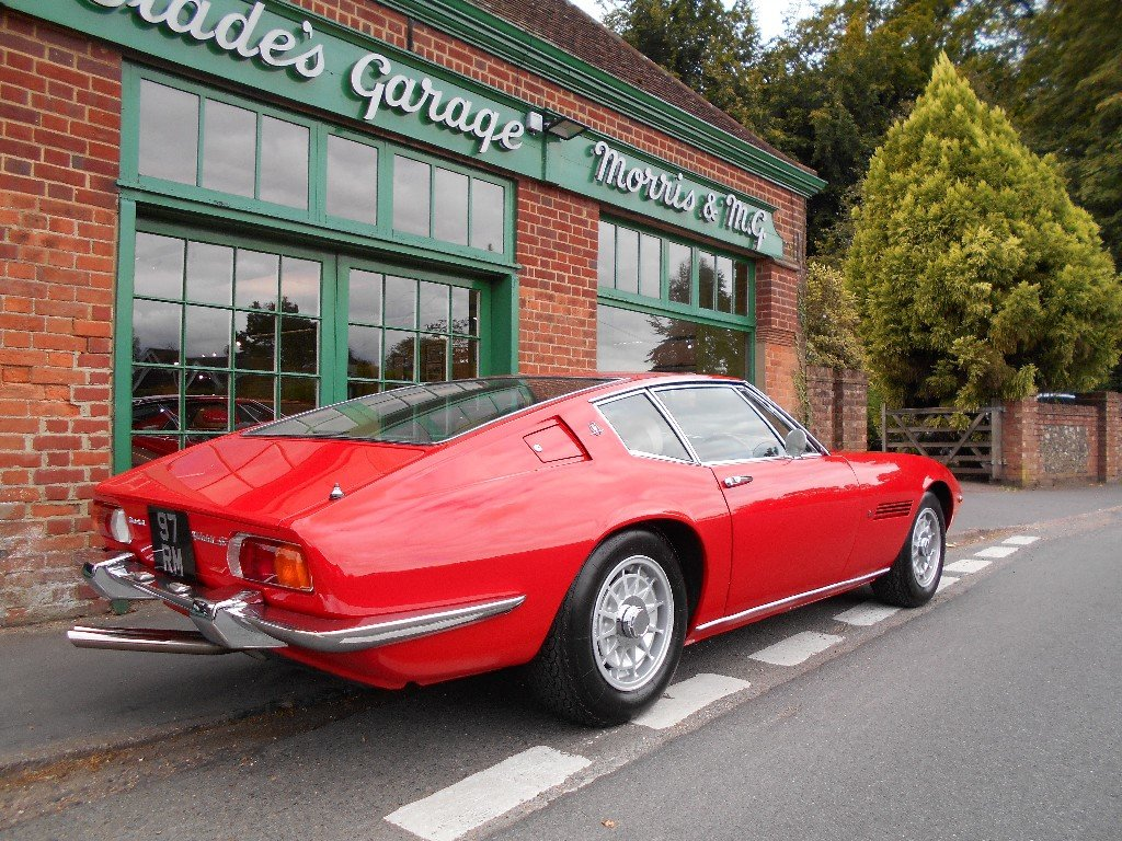 1970 Maserati Ghibli SS Coupe 1 of 12 RHD Cars  For Sale (picture 3 of 5)