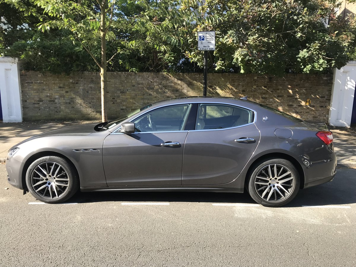 2014 Maserati Ghibli S - Stunning Low Mileage, FMSH For Sale (picture 2 of 5)