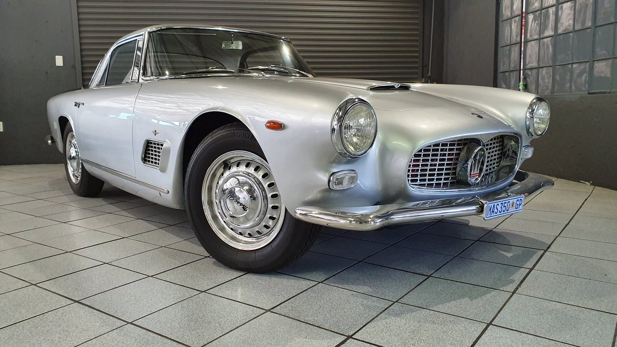 1962 Maserati 3500 GTi Status with a stunning finish For Sale (picture 1 of 6)