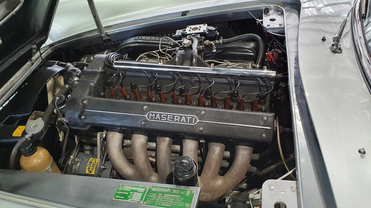 1962 Maserati 3500 GTi Status with a stunning finish For Sale (picture 3 of 6)