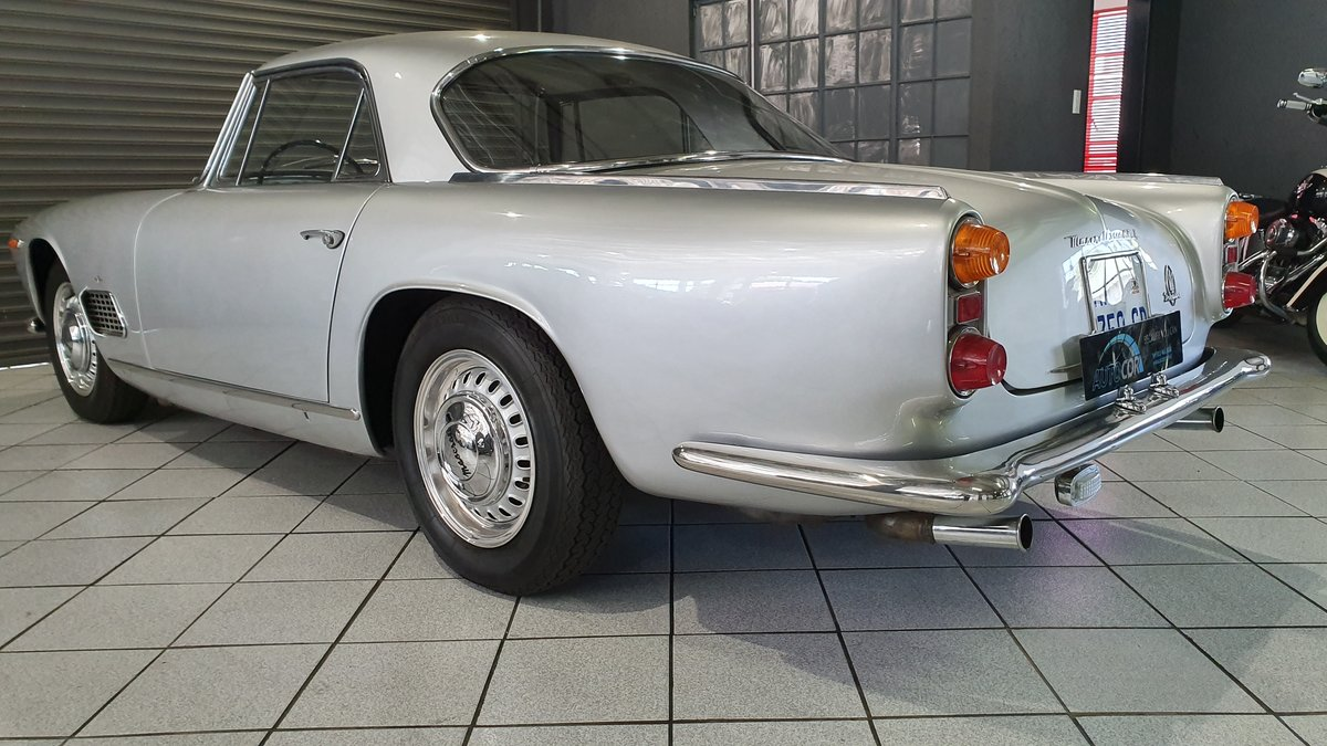 1962 Maserati 3500 GTi Status with a stunning finish For Sale (picture 5 of 6)