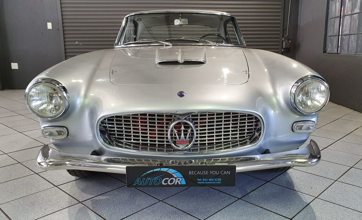 1962 Maserati 3500 GTi Status with a stunning finish For Sale (picture 6 of 6)