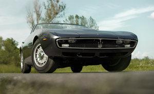 1971 Maserati Ghibli Spyder Conver.- frame off restored For Sale