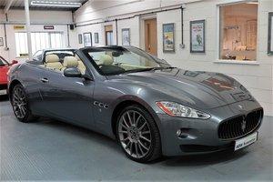 2011 11 Maserati GranCabrio 4.7 auto - Grigio Alfieri Grey For Sale