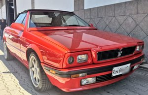 1993 maserati biturbo spyder 24v, one owner service book 35000 eu