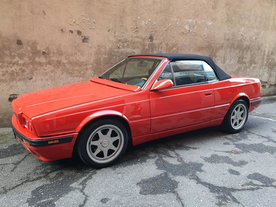 maserati biturbo spyder 24v, 1 of 200 one owner service book For Sale (picture 3 of 6)