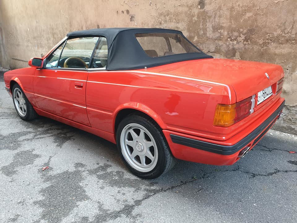 maserati biturbo spyder 24v, 1 of 200 one owner service book For Sale (picture 4 of 6)