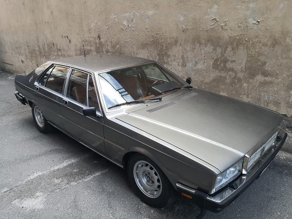 1983 MASERATI QUATTROPORTE 4.9 MANUAL For Sale (picture 1 of 6)