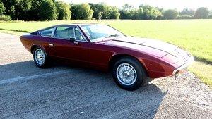 1977  Maserati Khamsin RHD Exceptional.