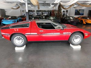 1973 Maserati Bora V-8 5 speed Rare 1 of 275 made low miles Red