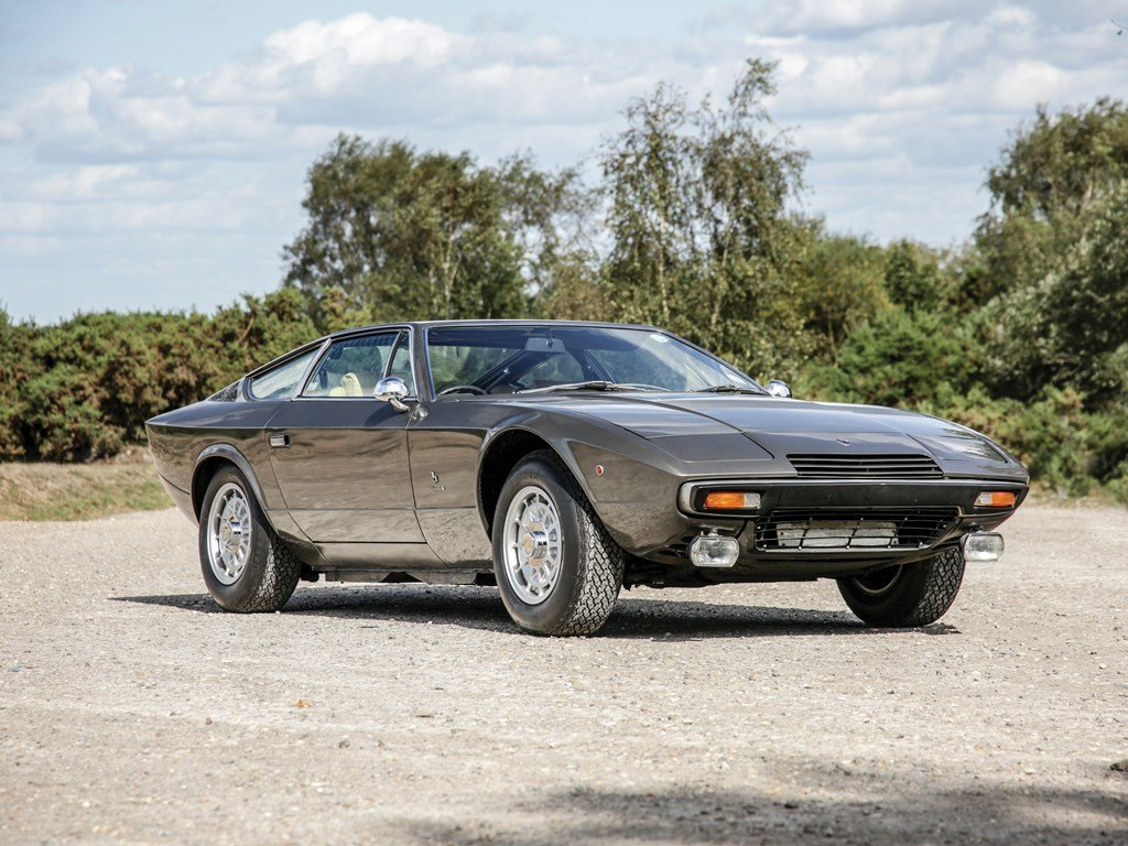 1976 Maserati Khamsin by Bertone For Sale by Auction (picture 1 of 6)