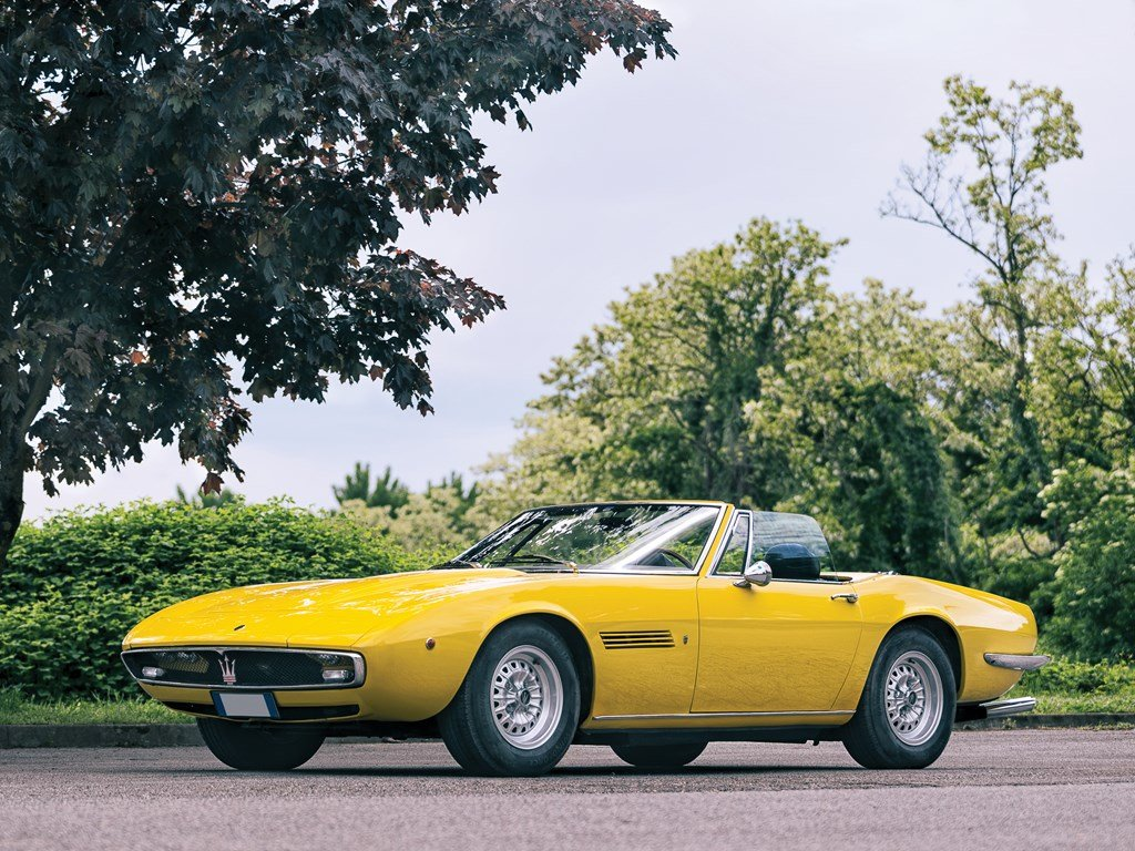1970 Maserati Ghibli 4.7 Spyder by Ghia For Sale by Auction (picture 1 of 6)
