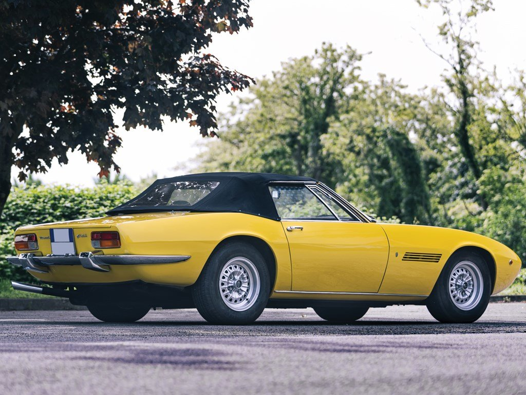 1970 Maserati Ghibli 4.7 Spyder by Ghia For Sale by Auction (picture 2 of 6)