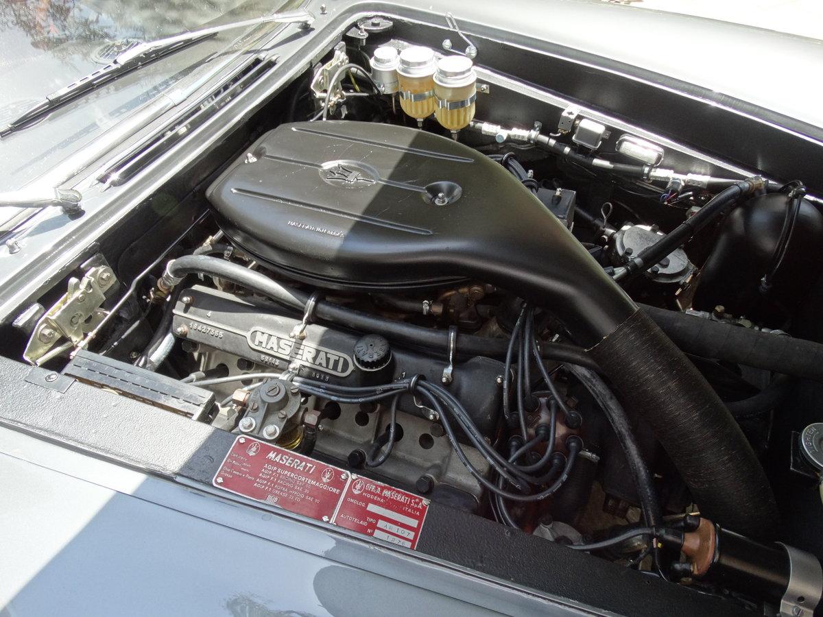 1968 Maserati Quattroporte 4.2 Grigio Ferro Metallizzato  For Sale (picture 5 of 6)
