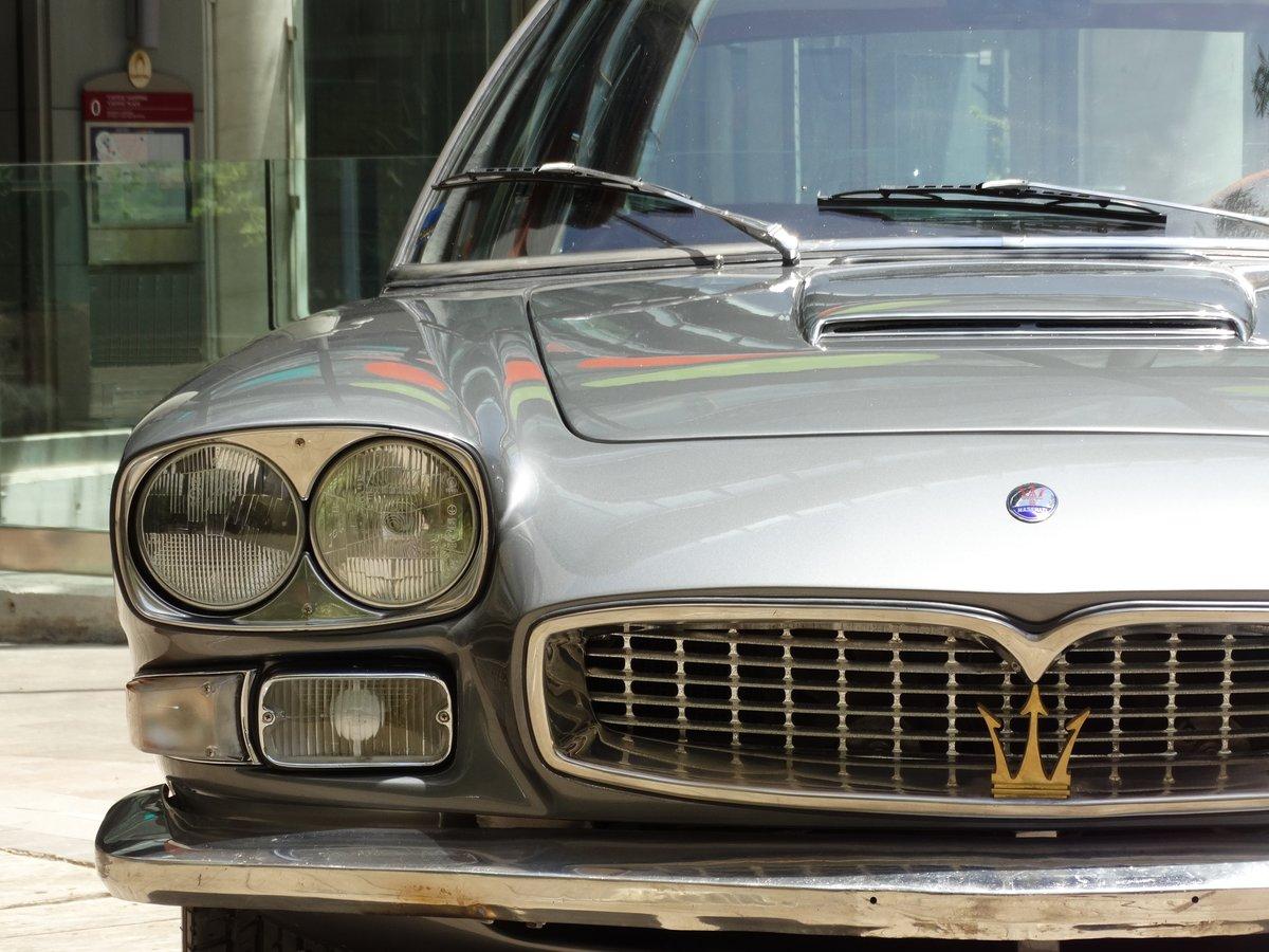 1968 Maserati Quattroporte 4.2 Grigio Ferro Metallizzato  For Sale (picture 6 of 6)