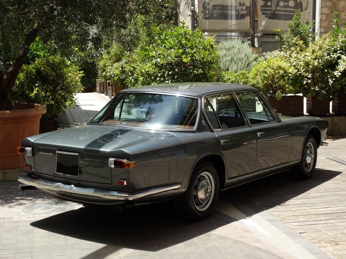 1968 Maserati Quattroporte 4.2 Grigio Ferro Metallizzato  For Sale (picture 3 of 6)