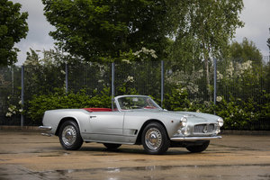 1963 MASERATI 3500 GT SPYDER BY VIGNALE For Sale