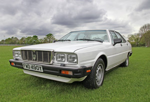 1983 Maserati Quattroporte III For Sale by Auction