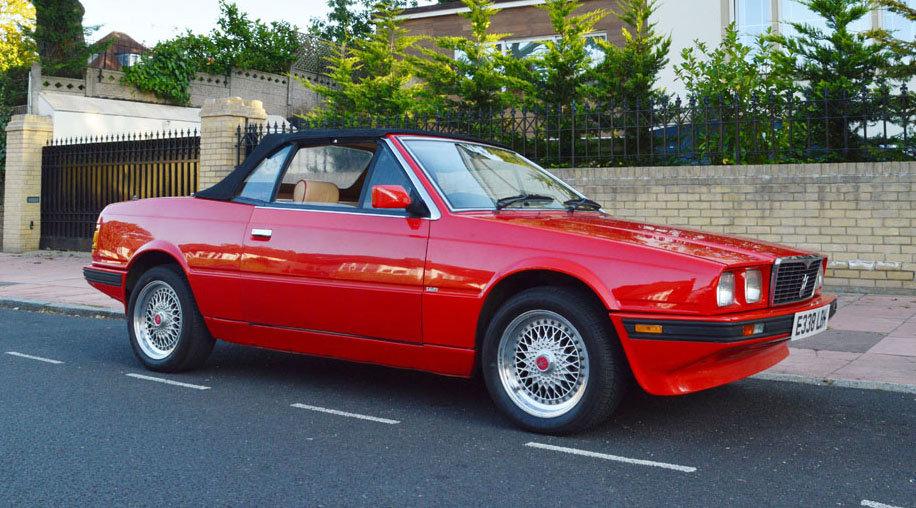 1988 Maserati Bi-Turbo Spyder For Sale by Auction | Car ...
